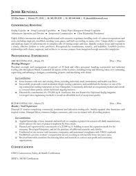 construction and extraction resume samples charming roofing