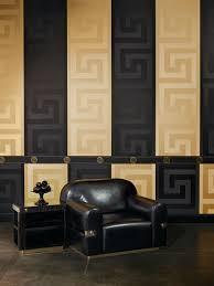 greek key border by versace gold wallpaper direct