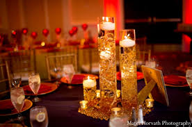 lighted centerpieces for wedding reception indian wedding lighting decor in dana point california indian