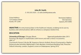 My Objective In Resume Cover Letter Writing Objectives In Resume Sample Objectives In