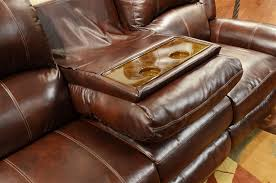 Catnapper Leather Reclining Sofa Livingston Power Leather 2 Piece Reclining Set By Catnapper 6450 2