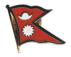 Pics Of Nepal Flag Nepal Flag Pin Badge 1 X 1 Inch Best Buy Flags Co Uk