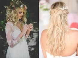 coiffure mariage cheveux lach s cheveux lachés mi longs coiffures mariage
