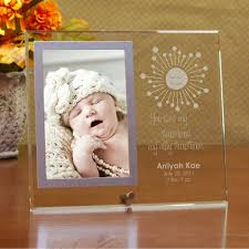 personalized baby picture frame personalized glass frame
