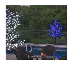 outdoor lighted branches sacharoff decoration