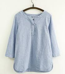 linen blouses http aliexpress com item simply design solid color one