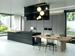 cuisine ilot central cuisson ilot central avec table 1 cuisine central ilot central avec table