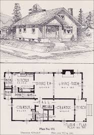 cottage bungalow house plans 1926 universal plan service no 571 classic bungalow cottage