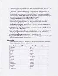 the periodic table lab answers fresh periodic table worksheet answers periodik tabel