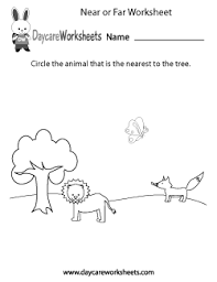 preschool position and order worksheets