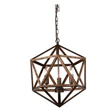 Copper Chandeliers 3 Light Antique Forged Copper Chandelier 9641p17 3 128