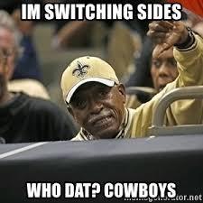 Cowboys Saints Meme - saints suck dustin likes the cowboys now new orleans saints