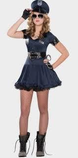 Cops Costumes Halloween Girls Costume Party Halloween