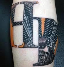 60 motorcycle tattoos for men two wheel design ideas