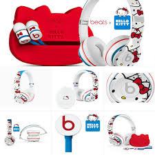 qoo10 urbeats beats kitty earphone headphone