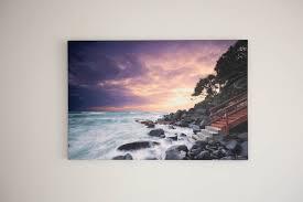 gold coast printing and framing bostocks photography beach stairs