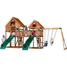 Metal Backyard Playsets by Parks Playsets U0026 Playhouses Playsets U0026 Recreation The Home Depot
