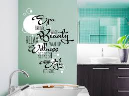 wandtattoos badezimmer wandtattoo wortwolke bad zweifarbig mit bubbles wandtattoo de