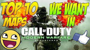 List Of Cod4 Maps Top 10 Cod4 Maps We Want In Modern Warfare Remastered Youtube