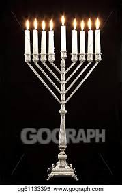 chanukkah candles stock illustration hanukkah menorah hanukkah candles clipart