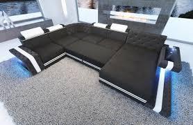 sofa mit led beleuchtung ledersofa imperial bei nativo möbel oesterreich
