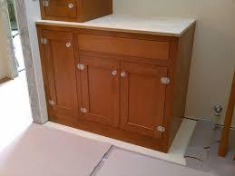 Douglas Fir Kitchen Cabinets Custom Made Douglas Fir Bath Cabinets By Artisan Woodcraft Inc
