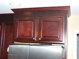 unique adding crown molding to kitchen cabinets alluring home