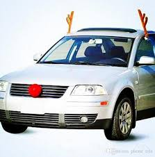 reindeer antlers for car 2017 reindeer antlers nose car kit set car decoration
