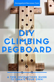 cool pegboard ideas diy climbing peg board garage gym reviews