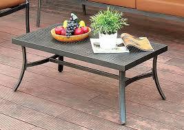 Aluminum Coffee Tables Choice Furniture Bonquesha Distressed Black Aluminum Coffee Table