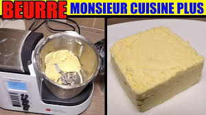 recettes cuisine plus recette beurre monsieur cuisine edition plus lidl thermomix butter
