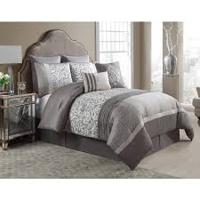 vcny home solid micro mink sherpa bedding comforter set walmart com
