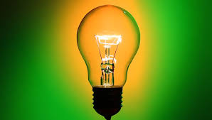 butterfly inside turned on the light bulb animation stock footage