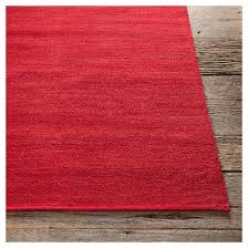 Chandra Rug Chandra India 9 Hand Woven Cotton Area Rug Dark Red Target