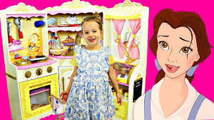 Kitchen Princess Beauty U0026 The Beast Disney Kidkraft Play Kitchen Kids Pretend Play