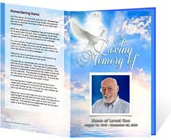 Funeral Programs Wording Downloadable Funeral Bulletin Covers Beautiful Funeral Cover