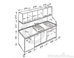 kitchen design measurements modern interior design kitchen