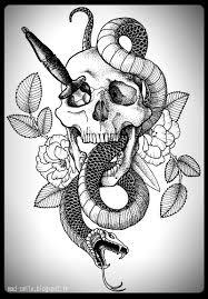 skull snake and dagger by mad smile on deviantart
