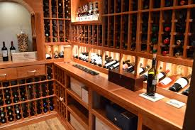Wine Cellar Liquor Store - home wine cellar construction project in san francisco