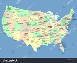 The United States Map Labeled by Download Free Us Maps Usa Map Blank Political United States Map