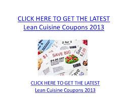 lean cuisine coupons lean cuisine coupons 2013 printable lean cuisine coupons 2013
