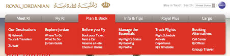 use the royal jordanian website to check oneworld bookings u2013 out