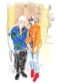 snap sketch the faces of new york fashion week illustrators