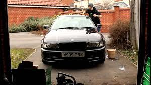 bmw car wax car detailing washing the e46 bmw 330ci all wash and wax