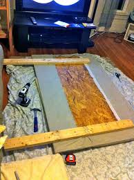 diy how to make a headboard handmadeology there are 4 3 5 screws in each leg