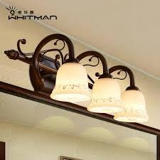 European Bathroom Lighting Buy European Minimalist Mirror Front Lamps Bathroom Mirror Cabinet