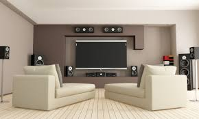 Home Theater Decorating Home Interiors Inspiring Home Theatre Decorating With Cool Color