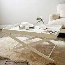 white tray coffee table butler s coffee table tables the white company uk