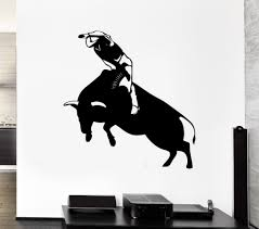 cowboy sticker riding decal posters vinyl art wall decals pegatina aeproduct getsubject