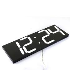 wall clock modern large digital wall clock modern design wall watch timer countdown